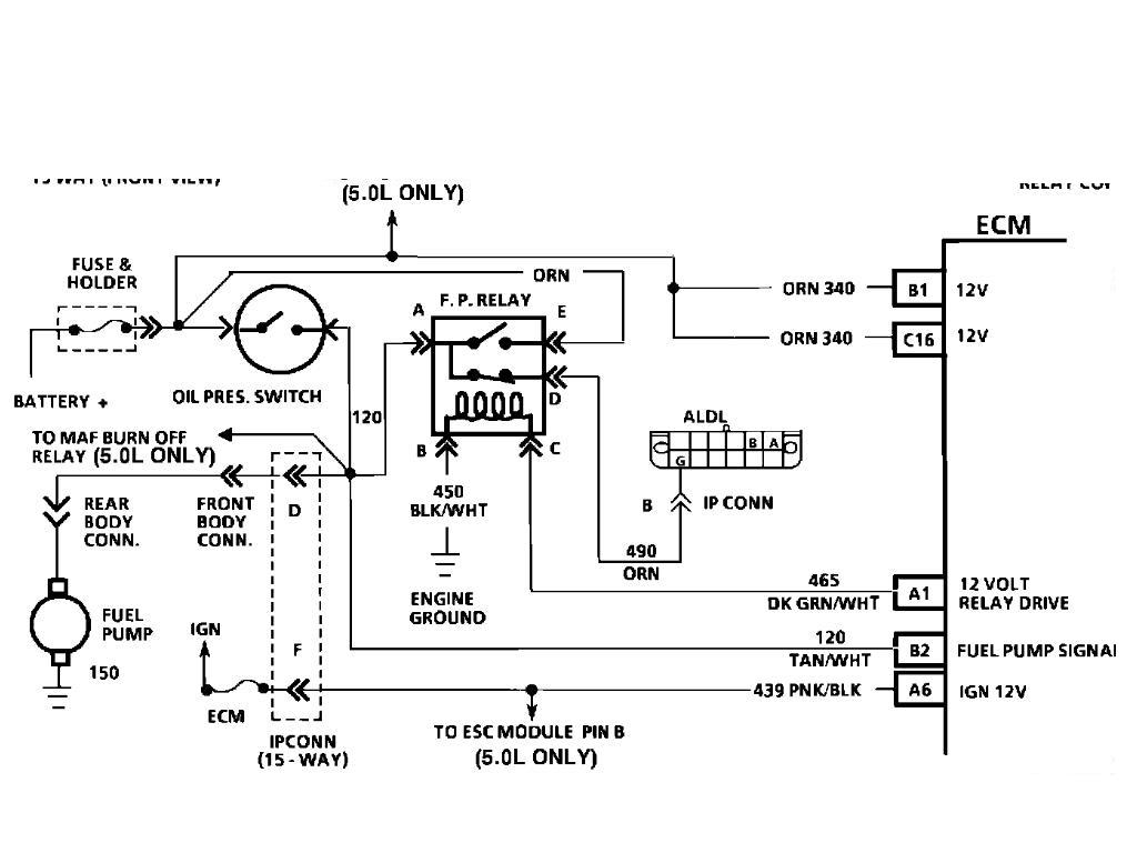 2001 Mustang Wiring Diagram Honda Civic Main Relay Location