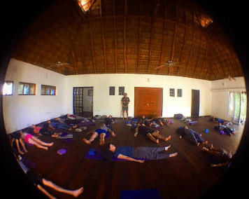 Savasana at Punta Monterrey with Jerry Balderas, Yoga Retreat Mexico