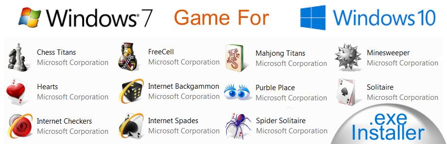 Windows 7 Built Games for Windows 10 \u2013 Reparación del ordenador NYC