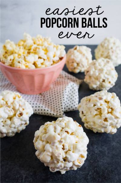 Easiest Popcorn Balls Recipe Ever