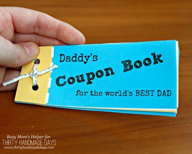 Printable Father\u0027s Day Coupon Book