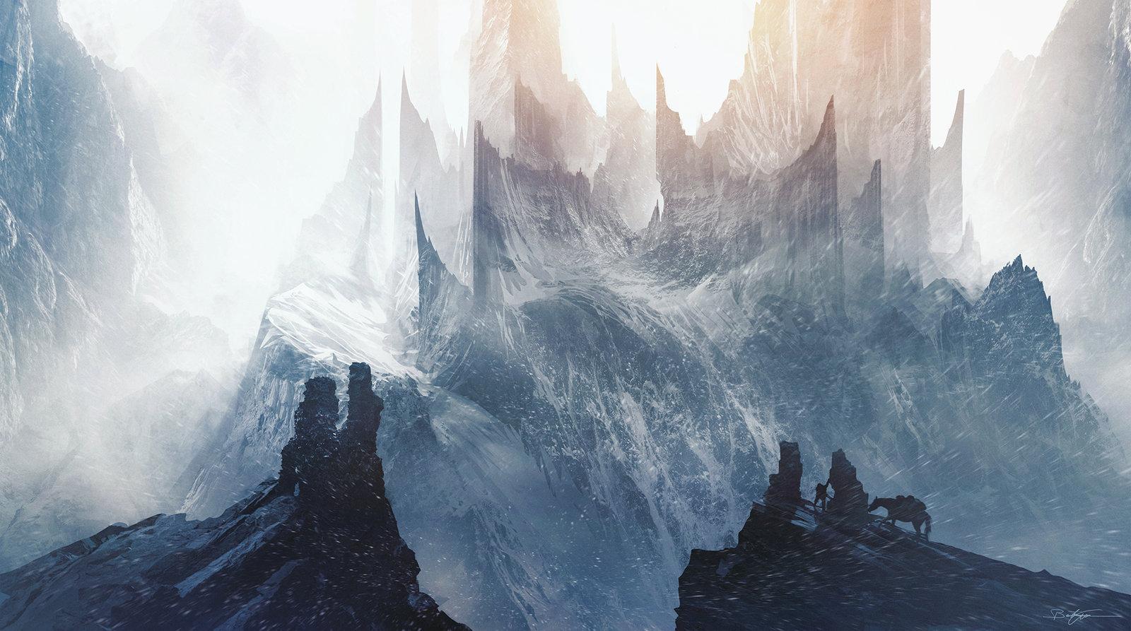 Fantasy Girl Wallpaper Cool Fantasy The Sci Fi Art Of Bastien Grivet Bastien Grivet Artist