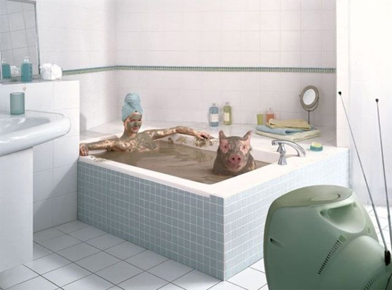 bath-pig