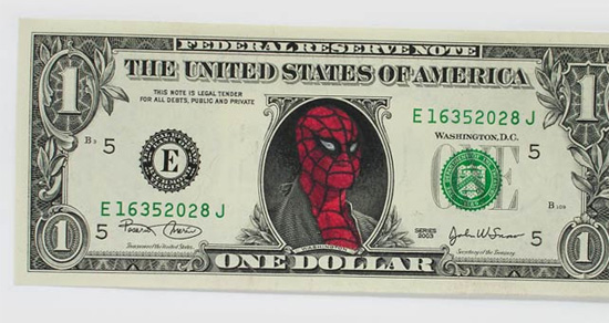 spiderman-dollar