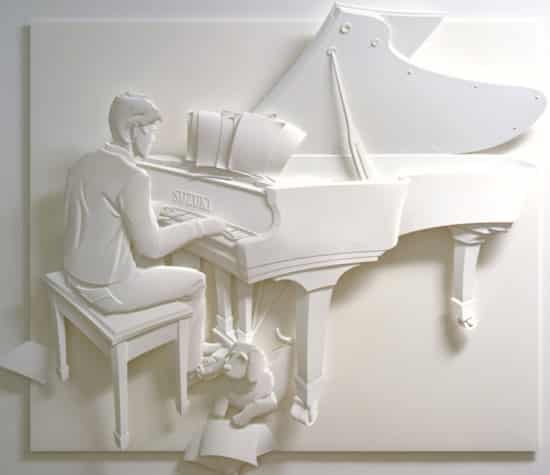 paper-art-man-on-piano