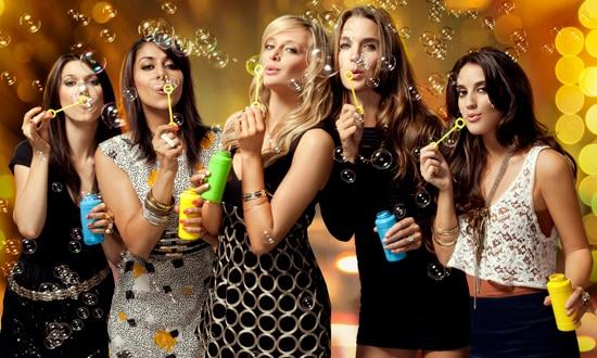 downtown girls cast