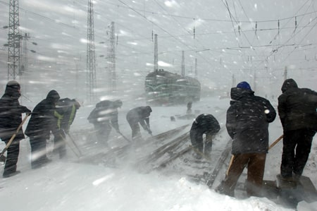 Chinese Winter storms