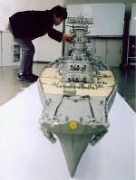 Lego Battleship Yamato Bow Anchor