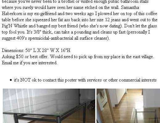 Craigslist cheater outted
