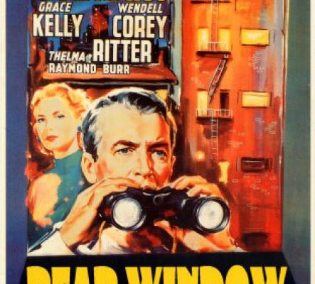 Alfred Hitchcock and Rear Window