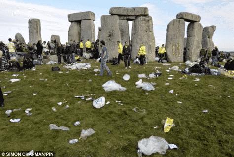 Tourist Attractions and Stonehenge, USA