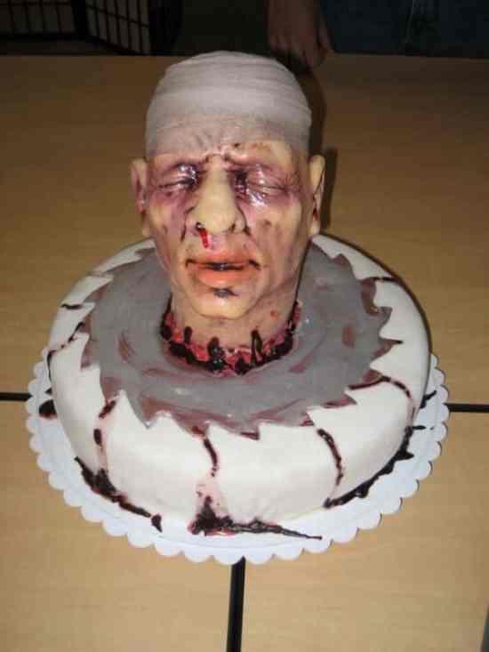 The Strange Horror Cake
