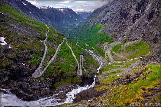 spectacular roads