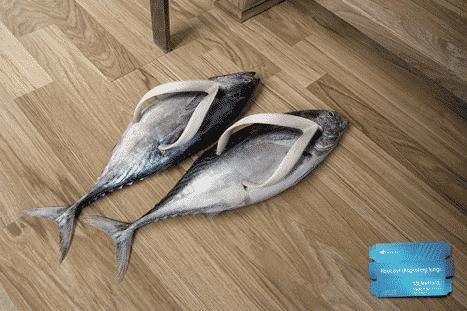 Weird Slippers