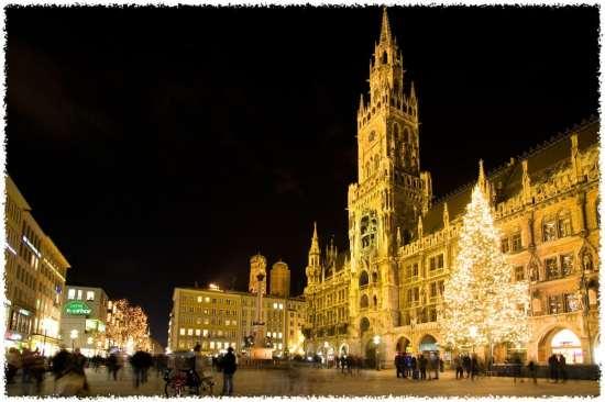 Germany Munich. Marienplatz
