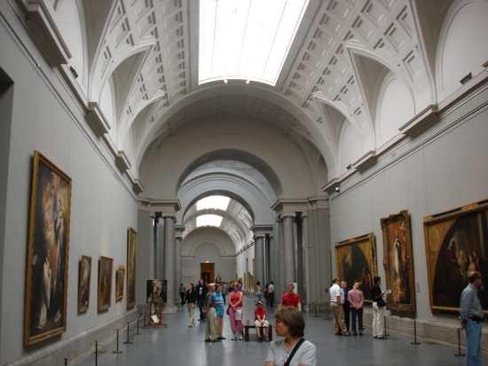 Spain Madrid. Prado Museum