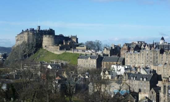 United Kingdom Edinburgh. Edinburgh Castle
