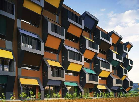 Honeycomb Apartments, Slovenia