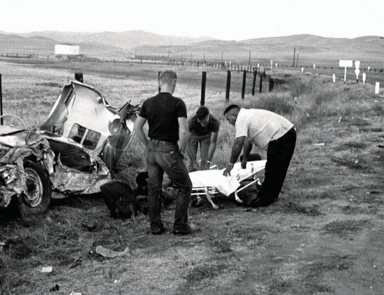 James Dean Crash Accident Scene Pictures Inspirational