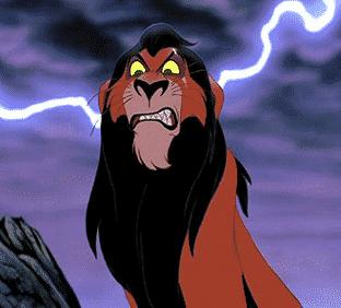 Scar – The Lion King