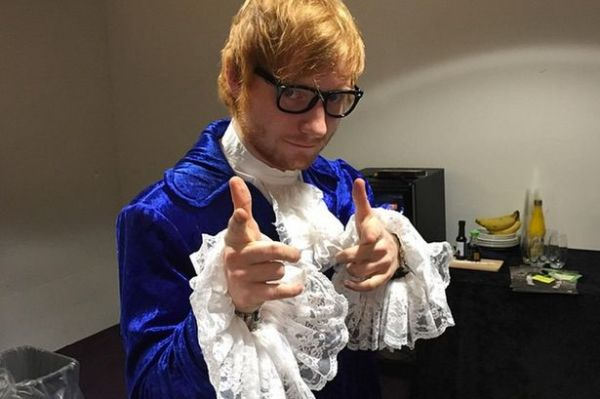 5 times celebrities nailed their Halloween costume - Ed Sheeran