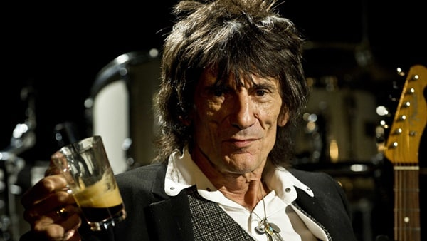 5 stars with a younger new flame - Ronnie Wood