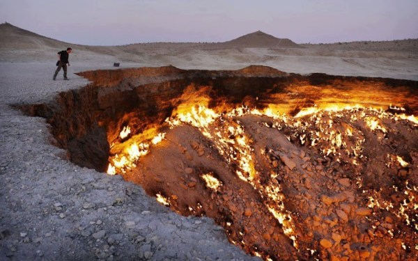 7 places on earth that will give you shivers - The Door To Hell
