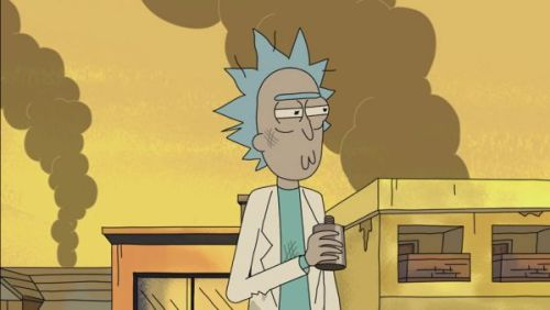 Rick Sanchez would do well as a president, despite being a notorious drunk.