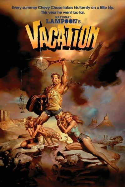 National Lampoon's Vacation is among the top 6 best comedies from the 80s.