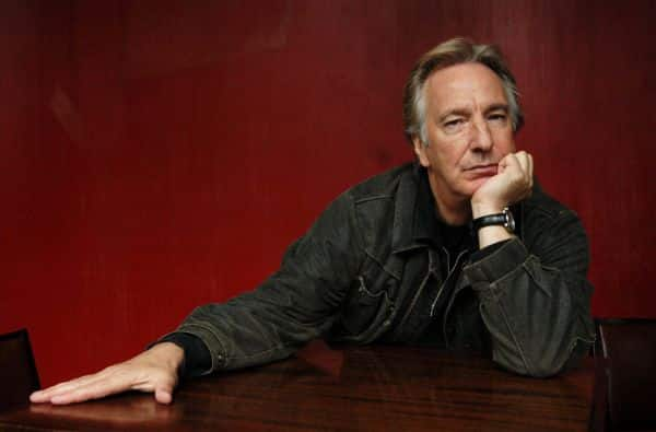 Alan Rickman took his roles very seriously.