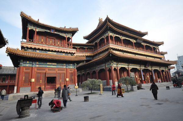 Most Beautiful Temples In Asia - Yonghe Temple