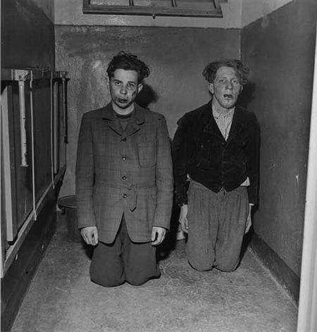Rare historical photos of the Buchenwald concentration camp guards