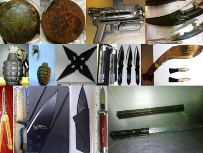 Insane Things Found By Airport Security - Canonball