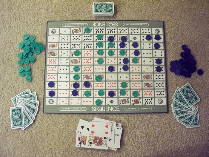 sequence boardgame