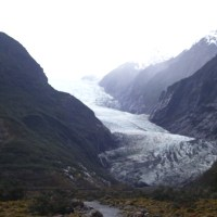 Hiking Franz Josef Glacier, New Zealand