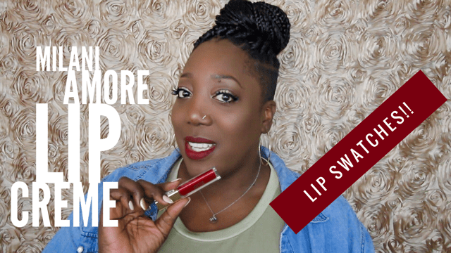 Youtube // Milani Amore Lip Creme – Lip Swatch!