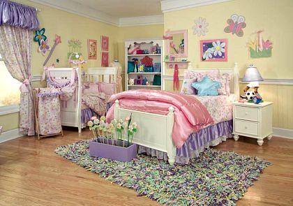 Shared Kids Room Design Toddler And Baby Room Design