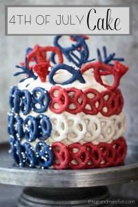 4th of July Cake - TGIF - This Grandma is Fun