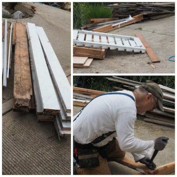 carhartt guy reclaiming lumber