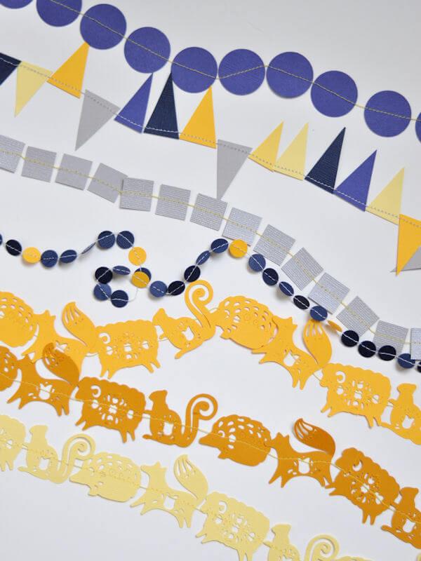 Sewn Paper Ribbon 1