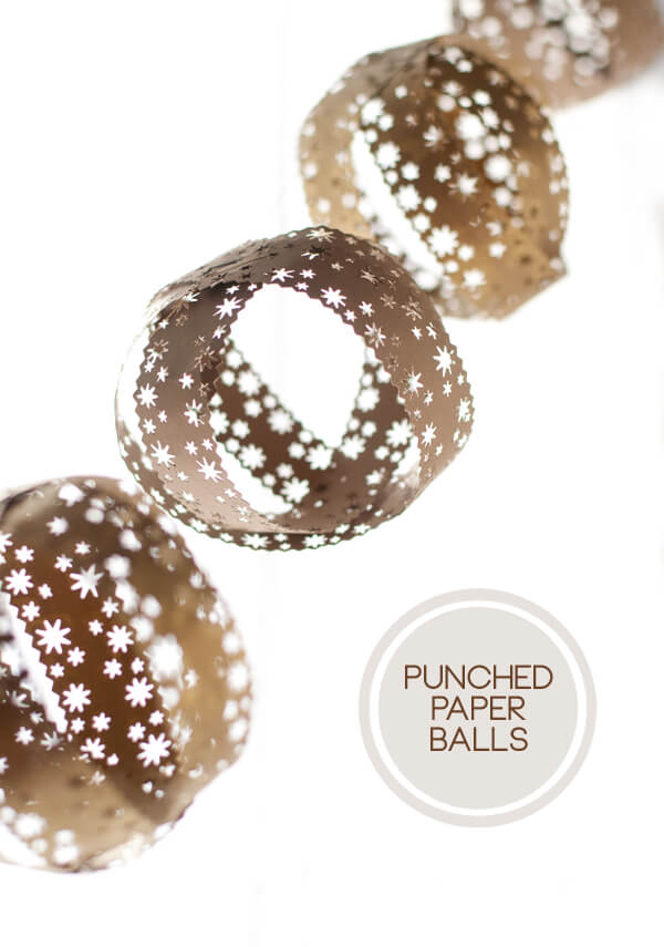 Punched Paper Balls   this heart of mine