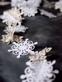 Winter Wonder: Snowflake Garland  this heart of mine