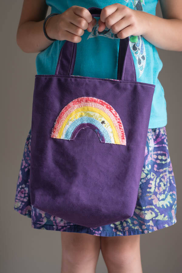 Applique Children Totes   this heart of mine
