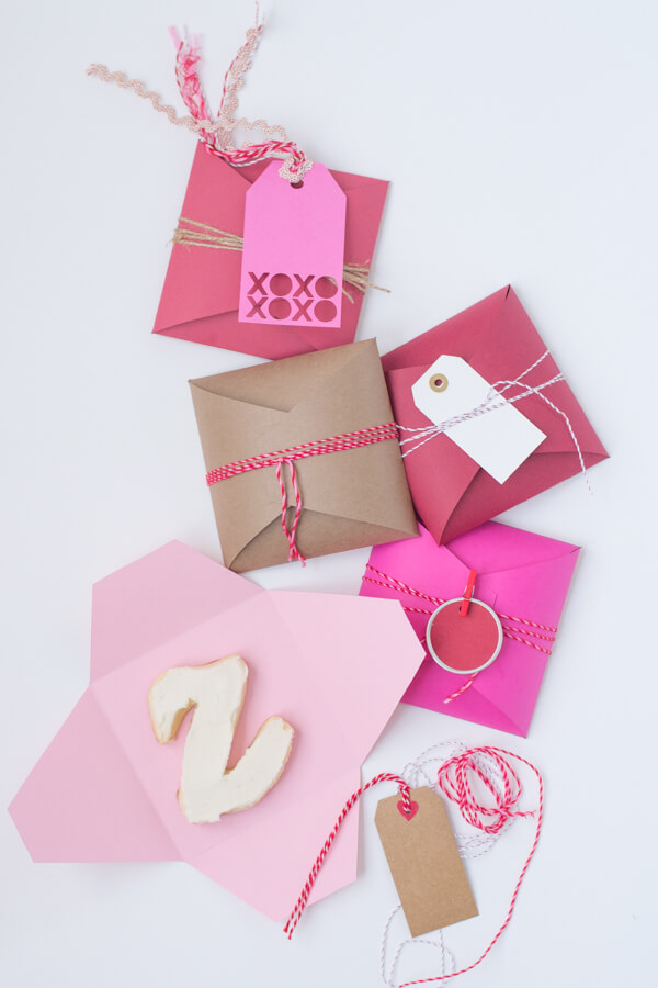Monogram Cookie Gifts for Valentine's Day! with @designmom | this heart of mine