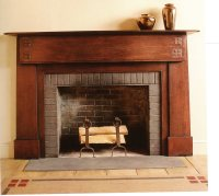 Craftsman Style Mantel & Bookcases | THISisCarpentry