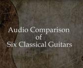 Audio Comparison of Six Guitars by Sigurdson