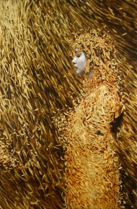 Leaf Paintings by Brad Kunkle   Colossal