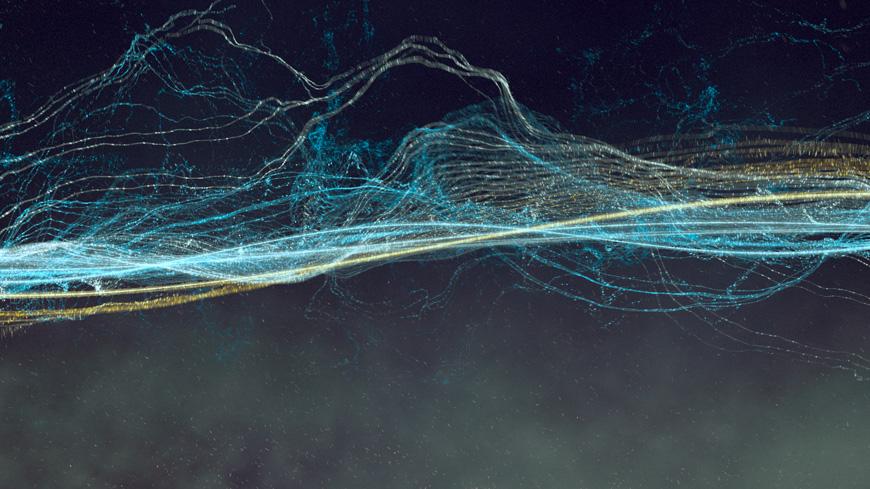 Oscillate\u0027 is a Mesmerizing Digital Animation of Sine Waves by - ocean waves animations