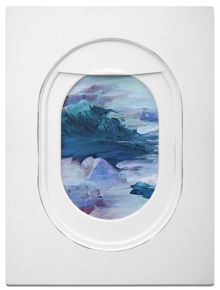 Rich Girl Wallpaper Jim Darling S Airplane Window Seat Paintings Frame