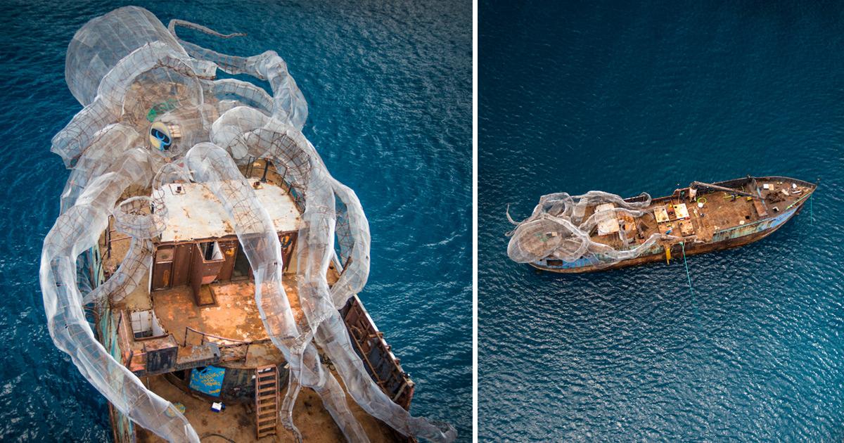 Reef Girl Wallpaper An 80 Foot Steel Kraken Will Create An Artificial Coral